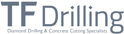 Diamond Drilling Derby | TF Drilling Logo